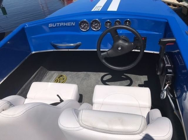 Pre-Owned 2015 Sutphen 16 SPEED BOAT - 40 HP
