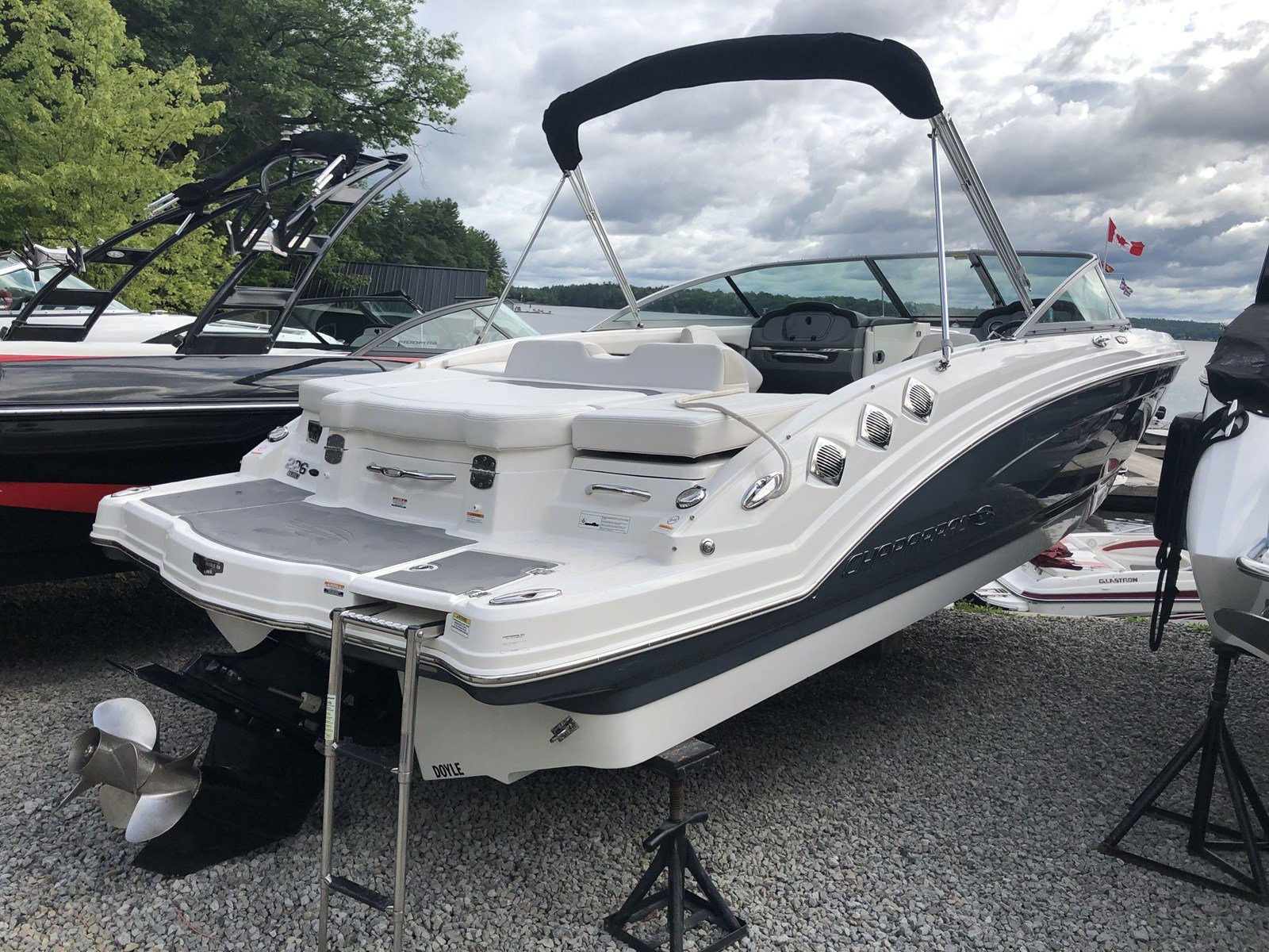 Pre-Owned 2015 Chaparral 226 Elite VERY CLEAN - 1 OWNER