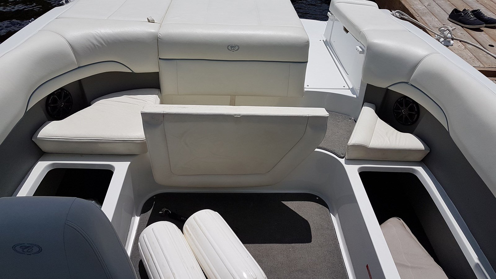 Pre-Owned 2012 Cobalt 220WSS Folding Tower Arch - Blue Hull - Tower Lights - Bimini Top