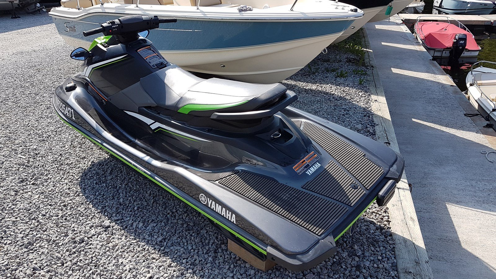 Pre-Owned 2018 Yamaha WaveRunner EX Deluxe - JET PUMP PROPULSION - RIDE TECHNOLOGY